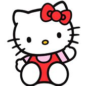 hello-kitty (broderie machine) - LE BLOG DE PATRIMUCHE