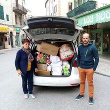 Castellane dons pour les Alpes Maritimes