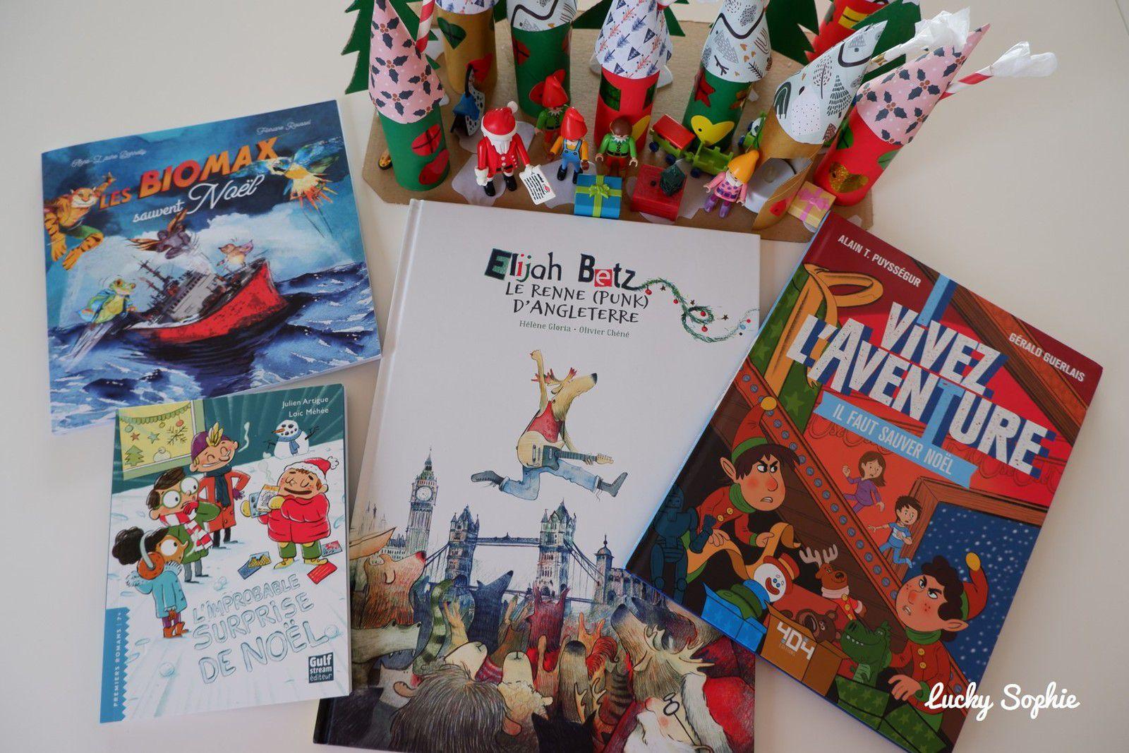 Des livres enfants pour attendre Noël