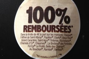 Fiers des fromages de chez nous 100% remboursés
