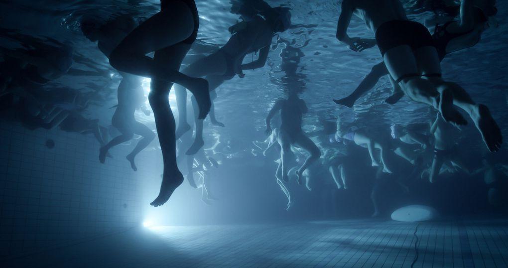 Concerts du 25 11 18 (vues subaquatiques). Les audionautes et apnéistes.