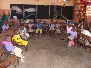 L'école maternelle d'Aplahoué...
