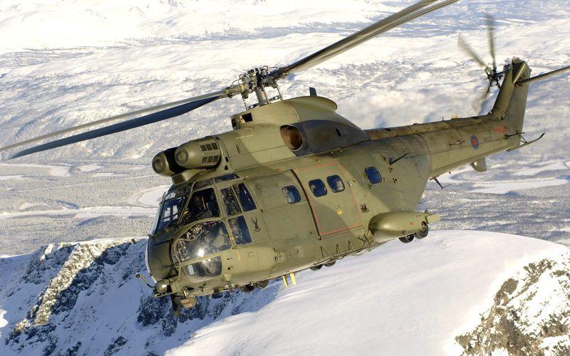 Les hélicoptères Puma HC2 de la Royal Air Force ont effectué 10 000 heures de vol