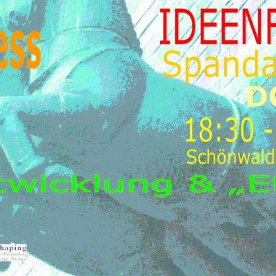 Einladung # 10. IdeenFabrik für die wirtschaftliche Revitalisierung der Spandauer Neustadt .