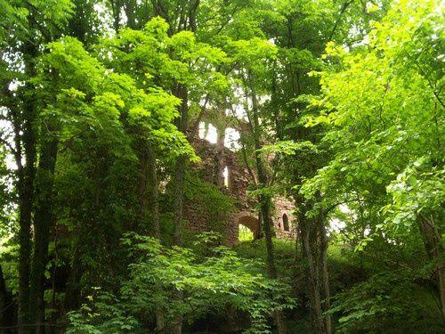 Les Ruines des Dreistein, Mont Sainte Odile