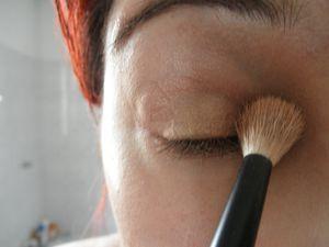 Make up #2 : light avec la Naked 2, pas à pas photo