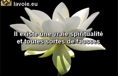 -La vraie spiritualité
