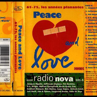 Peace and love - 65-75 les année planantes - 1993