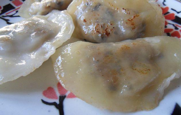 Gyosas : raviolis japonais  grillés