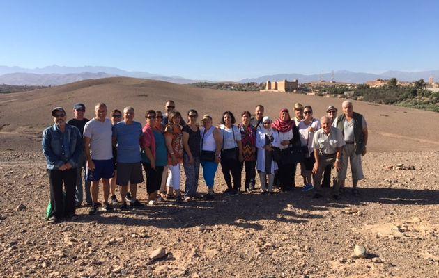 Voyage au Maroc, pour l'association des anciens combattants harkis de Grasse