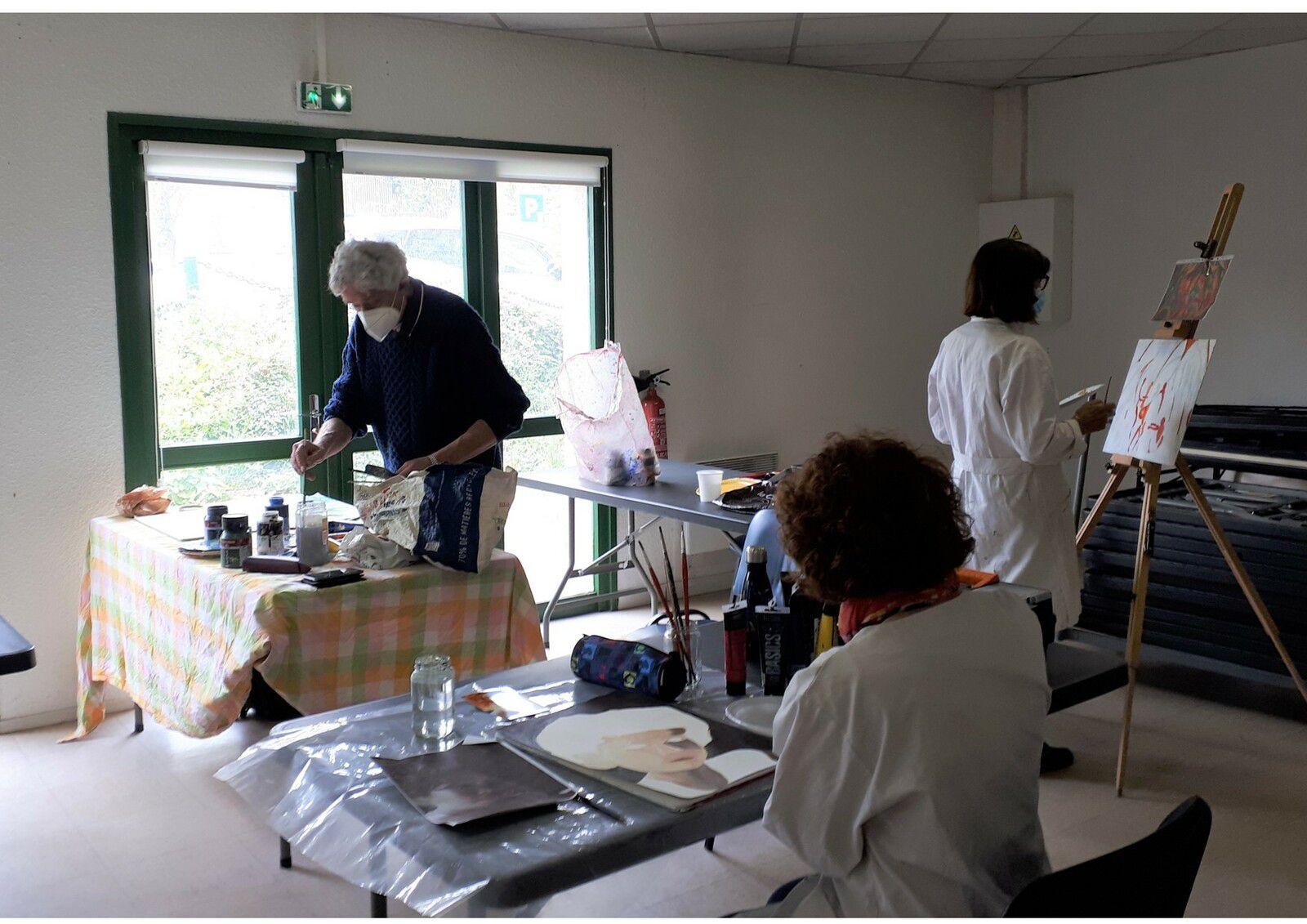 Reprise des cours de pastel à la Salle des Champs Frétauts le mercredi 26 mai !