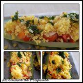 Courgettes aux légumes et persillade - La cuisine de poupoule