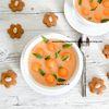 Soupe de melon à la vanille et au lait d'amande d'après Catherine Moreau