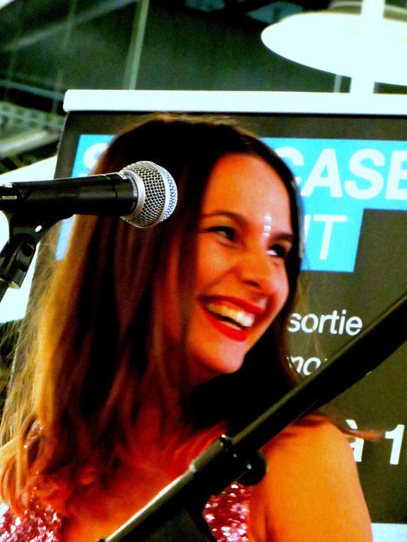 Showcase FNAC Orléans, juin 2013  et formation complète  à la Salle de Spectacles de St Jean de La Ruelle  le 28 septembre.