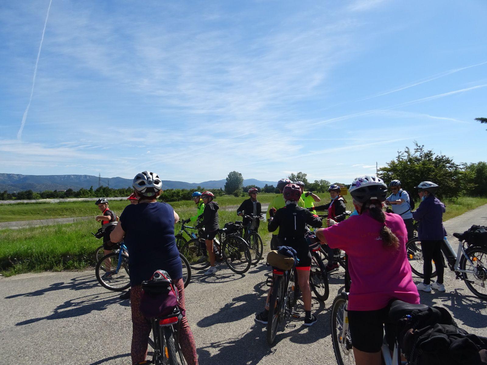 Autour de Mallemort : Circuit Vélo de 49,2 km