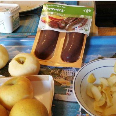Boudin aux pommes �😋