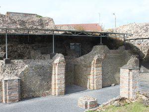 Visite du forum antique à Bavay la gallo-romaine