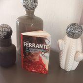 La vie mensongère des adultes de Elena Ferrante (éditions Gallimard)