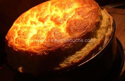 Soufflé au Fromage en Croûte Feuilletée