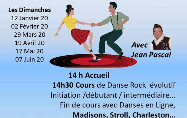 Prochains cours de Rock and Roll