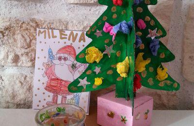 les sapins de Noël de mes filles