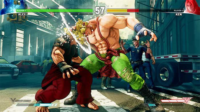 Jeux video: A new challenger appears: Alex - DLC pour Street Fighter V