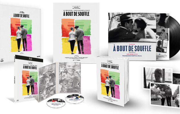 [REVUE CINEMA BLU-RAY - BLU-RAY 4K] A BOUT DE SOUFFLE Édition Collector 60ème anniversaire