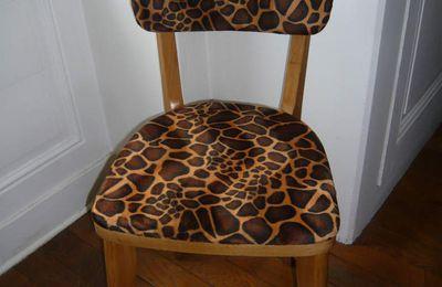 Chaise Girafe - 85 euros