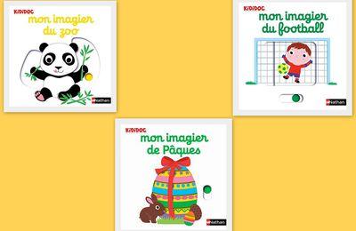 Mon imagier Kididoc : le zoo, le football et Pâques.