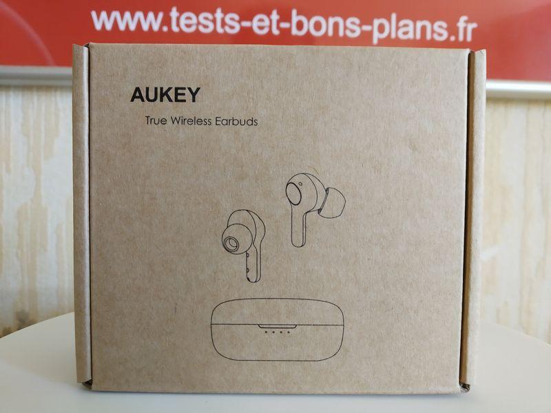 unboxing des écouteurs True Wireless Hi-Fi Stéréo - Aukey EP-T25 Upgraded @ Tests et Bons Plans