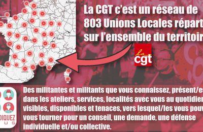 La CGT près de chez vous