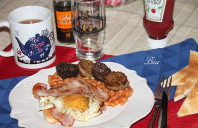 Full english breakfast # Foodista Challenge 39