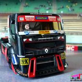 CAMION DE COURSE RENAULT PREMIUM 2012 MKR TECHNOLOGY 1/43. - car-collector.net