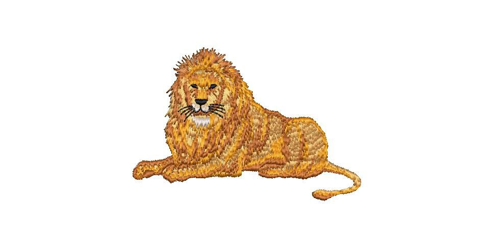 BRODERIE LION