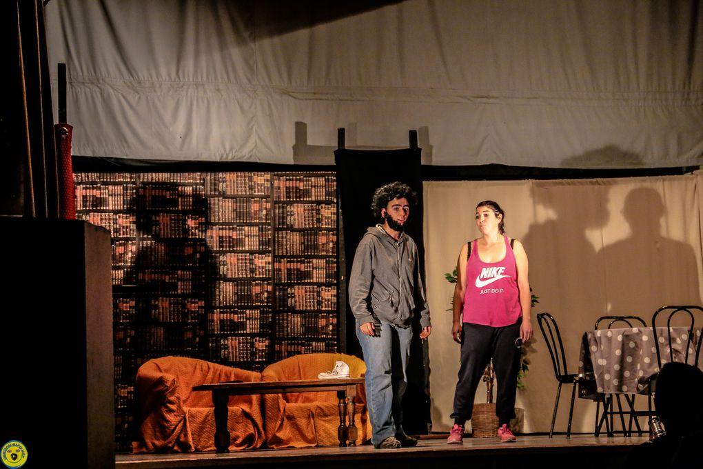 """St André les Alpes  : Théâtre avec la compagnie placebo qui nous proposait """"SQUAT"""""""