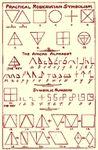 Alphabet Rosicrucien