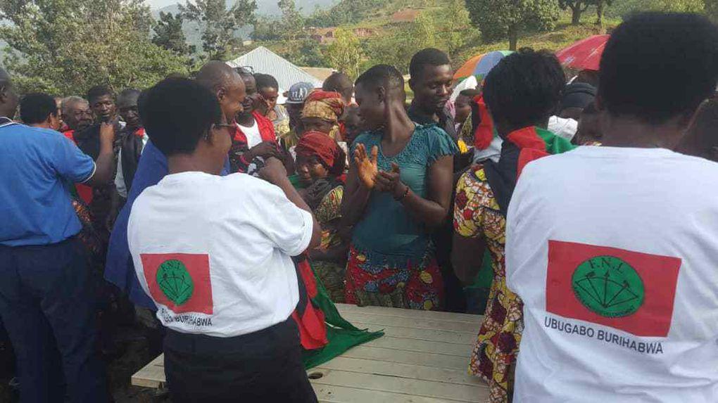 La population de Bujumbura rural demande volontairement à rejoindre le FNL