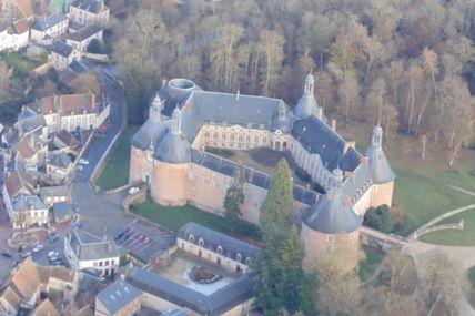 Vers Saint Fargeau et son château (2ème vol du 7 décembre 2016)