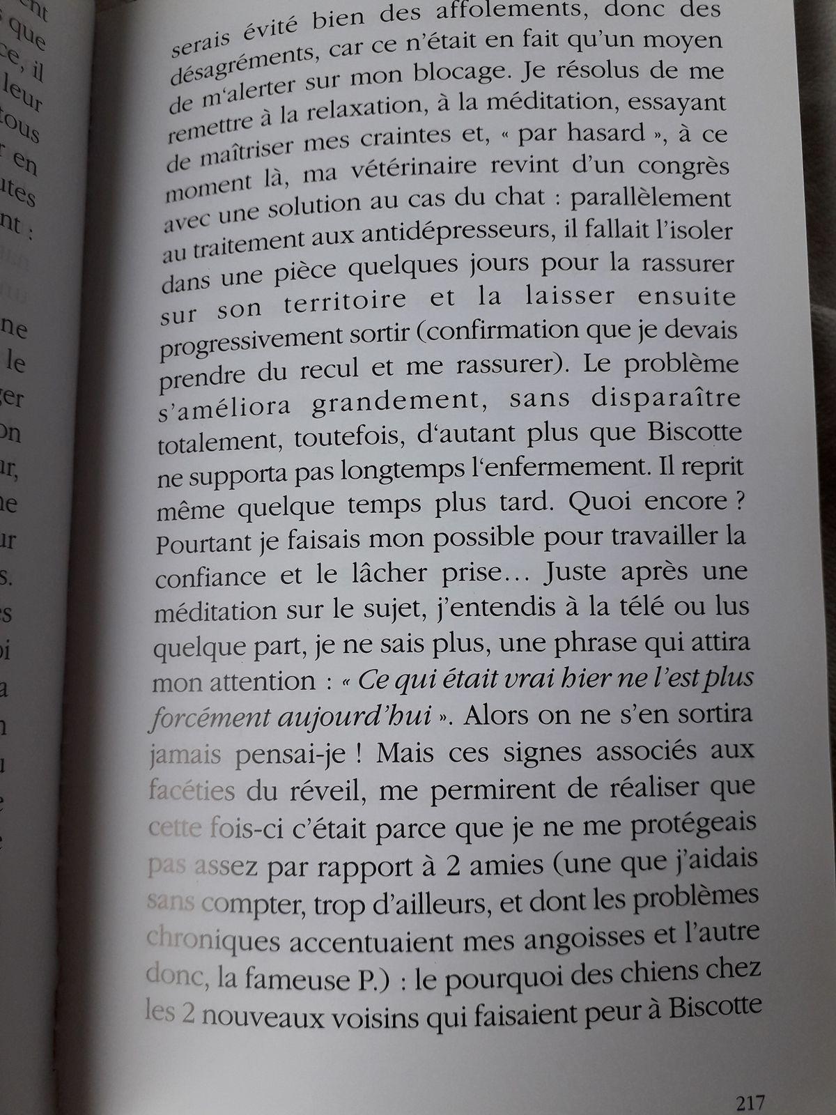 Suite Pluie de Poussières d'Etoiles, page 216 à 220