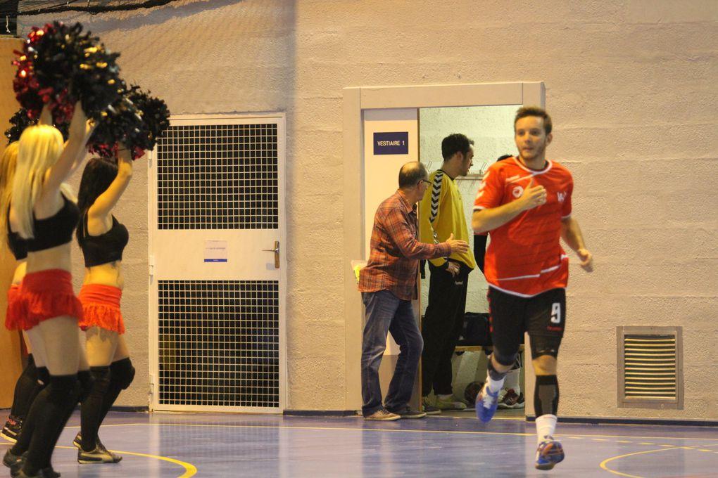 Les handballeurs ont du se contenter du match nul face à Mulhouse