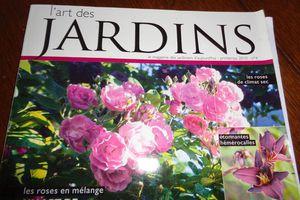 En toute modestie ,mes petites notoriétés sur les magazines de jardin ..... - Lejardinleclosfleuridansladrôme.com