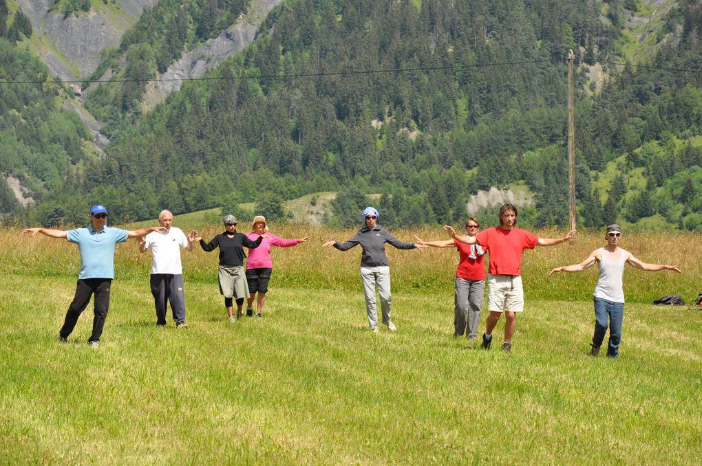 Stage qui a eu lieu au mois de juillet 2011 à Albiez Montrond (Savoie)