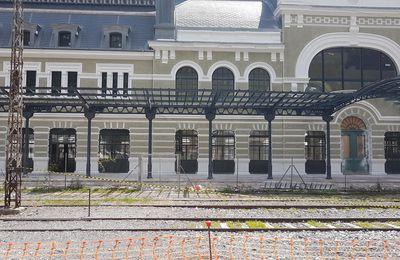 Balade à la gare internationale de Canfranc (Espagne)