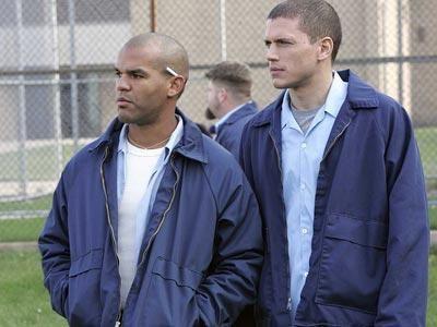 Sucre, Scofield et un mec qui est derrière