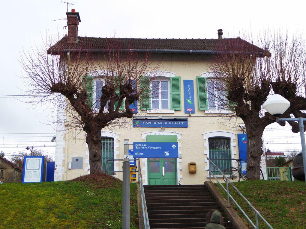 Randonnée de Moulin-Galant à Ballancourt - 15,8 km.