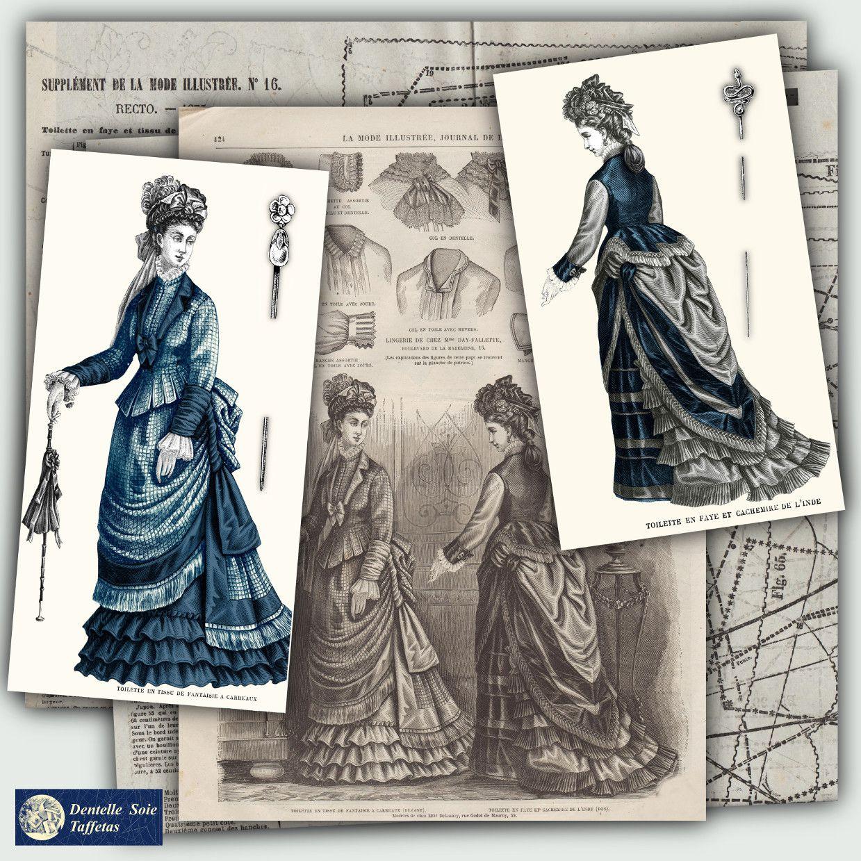 patrons robe mode 1875