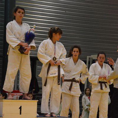 Alizée Pichot s'est qualifiée aux demi finales du championnat de France cadettes de JUDO ce weekend à Roullet en terminant à la 5 ème place aux inter départements ex Championnat de ligue PCH.