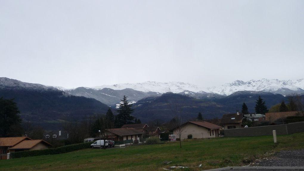La neige, de près, de loin.