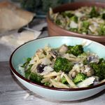 One pot pasta trofies brocoli