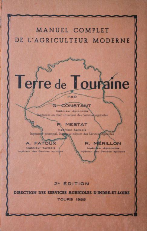 Ouvrages publiés par la DSA du département d'Indre-et-Loire ent 1933 et 1960